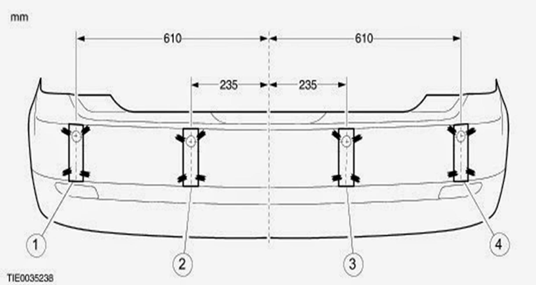 Park sensörü montaj ölçüsü nasıl alınır