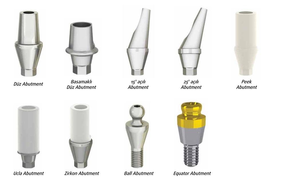 implant dis turleri