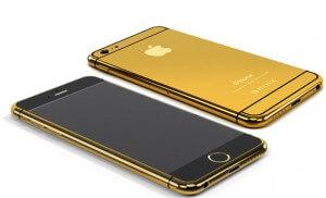 kadınlar için iPhone 6 gold