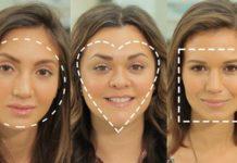 yüz şekline göre makyaj yapımı