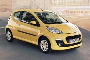 En az yakıt tüketen 2. araç Peugeot 107