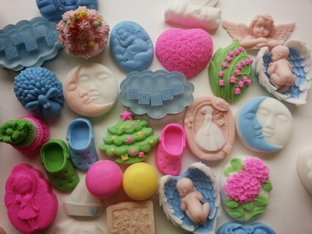 Evde dekoratif sabun yapmak
