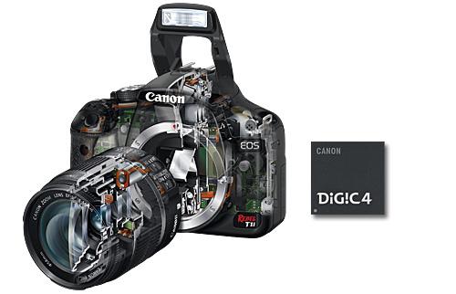 Canon 600d teknik özellik detayları