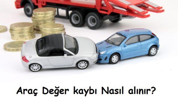 Araç Değer Kaybı Nasıl Alınır?