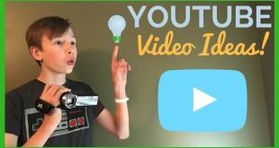 Youtube Kanalı için Özgün Video Fikirleri