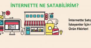 İnternette satılabilecek ürünler