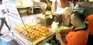 Islak hamburger satma iş fikri
