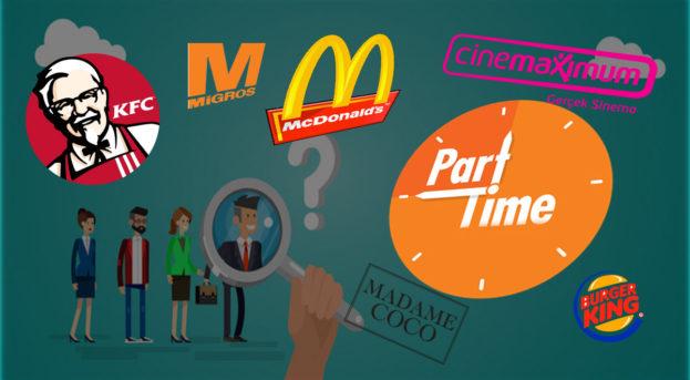 Part Time İş İlanı Veren 30 Büyük Firma | Yarı Zamanlı İşler