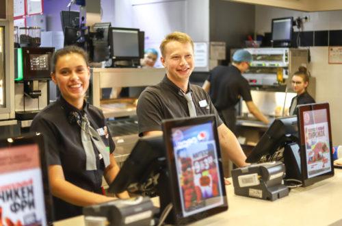 Burger King'de Çalışmak